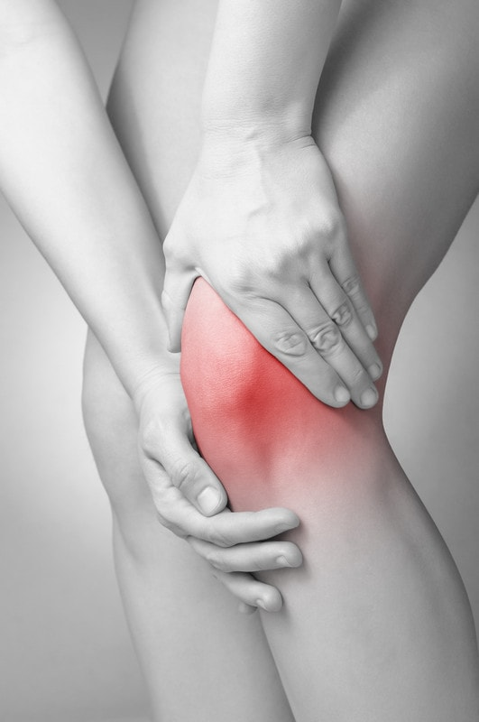 painful knee from knee bursitis
