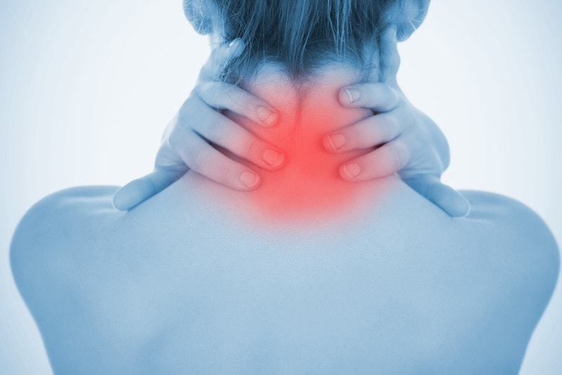 neck pain relief with low level laser therapy